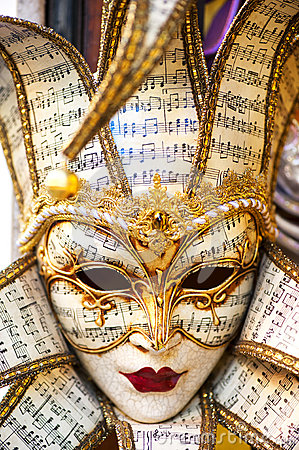 Great traditional venetian mask