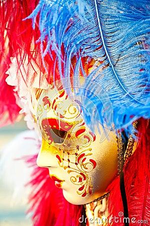 Great traditional venetian mask