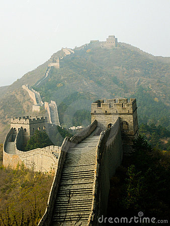 The Great Wall Stock Photography - Image: 10061182