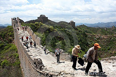 Great Wall Editorial Photography