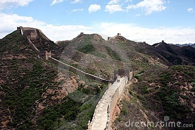 Great Wall Editorial Stock Image