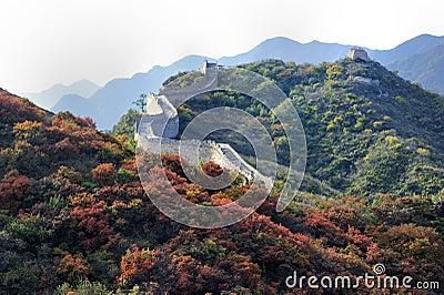 Great Wall in autumn, Beijing