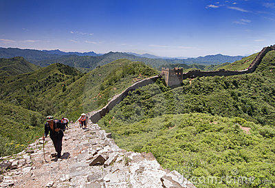Great Wall of China Editorial Image