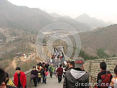 Great Wall of China Editorial Image