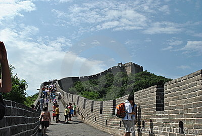 Great Wall of China Editorial Stock Image