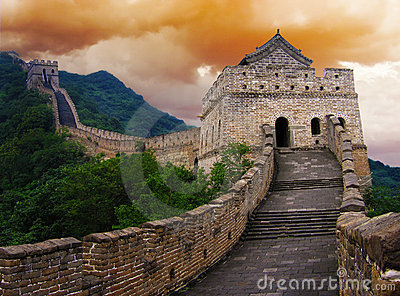 The Great Wall Of China Royalty Free Stock Images - Image: 20573199