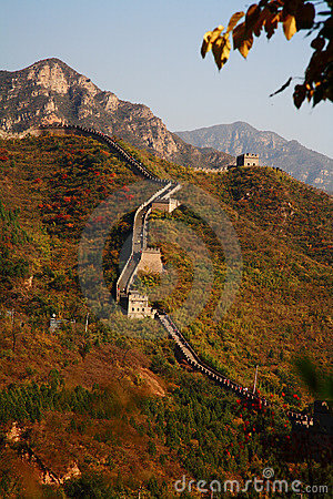 Free Great Wall China Royalty Free Stock Photos - 6829408