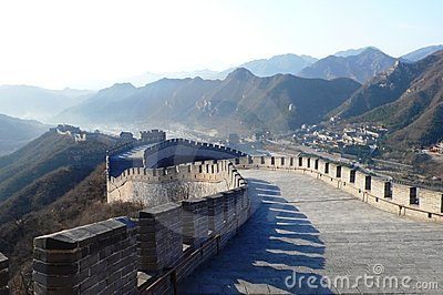 Great Wall downstairs view