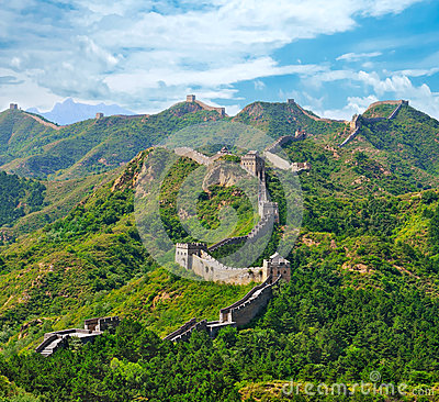 Free Great Wall In Summer Stock Photos - 29599083