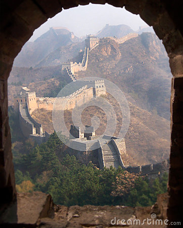 Free Great Wall Of China Royalty Free Stock Photography - 27537457