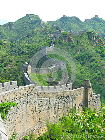 Free Great Wall Of China Stock Image - 43170231