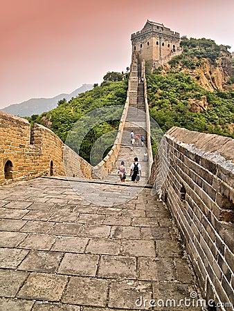 Free Great Wall Of China Royalty Free Stock Photos - 4415328