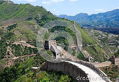Great wall in Simatai