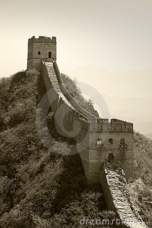 Free Great Wall, Towers Royalty Free Stock Images - 6739629