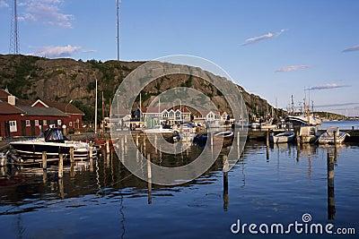 Grebbestad Harbour