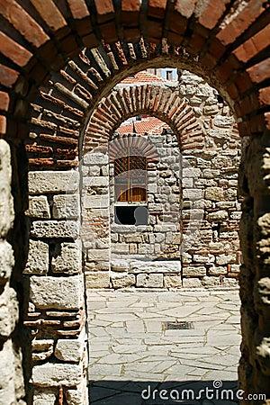 Grecian arches