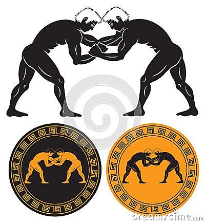 Greco roman wrestling wallpaper