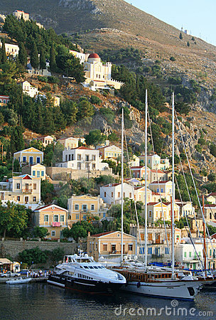 Greece. Aegean sea. Island Symi (Simi).
