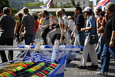 Greece, Athens, 18th October 2012 Editorial Photo