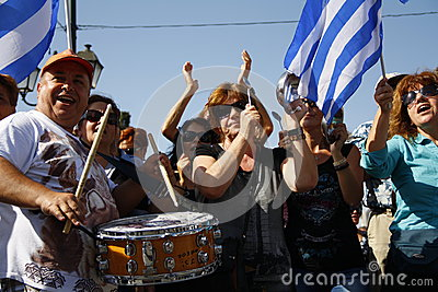 Greece, Athens, 18th October 2012 Editorial Stock Photo