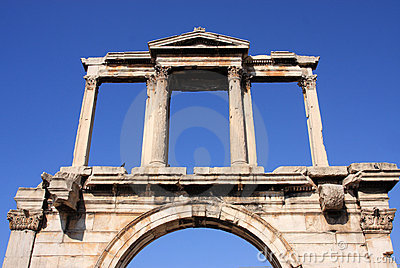 Greece Athens, Hadrian s Arch
