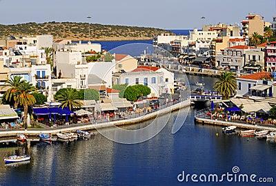 Greece,Crete, Agios Nikolaos