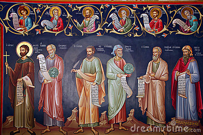 Greece, fresco