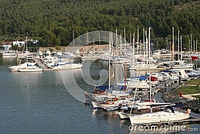 Greece. Halkidiki.Sithonia. Porto Carras. Bay of M