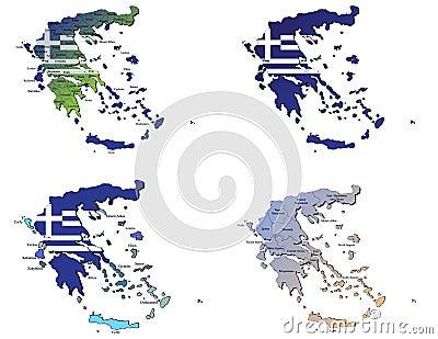 Greece maps
