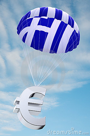 Greece parachute