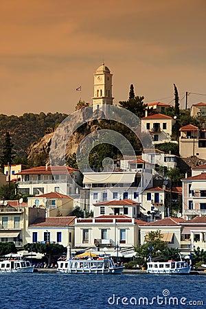 Free Greece, Poros Island Royalty Free Stock Image - 10671246
