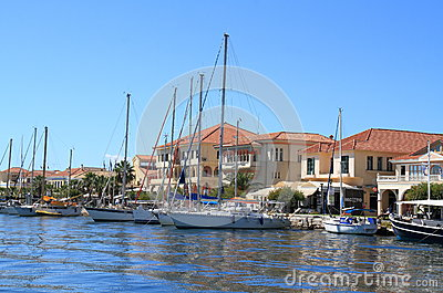 Greece/Preveza: Tourist Boats Editorial Image