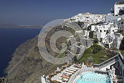 Greece - Santorini - Cyclades Editorial Stock Image