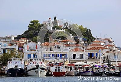Greece, Skiathos Island Editorial Photo