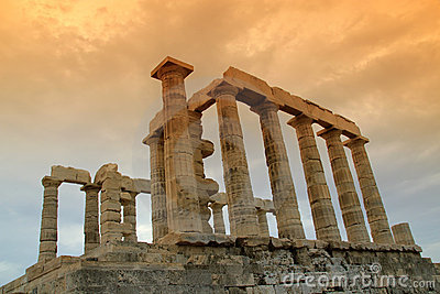 Greece, Temple of Poseidon