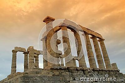 Greece, Temple of Poseidon