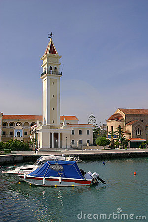 Greece Zante harbor