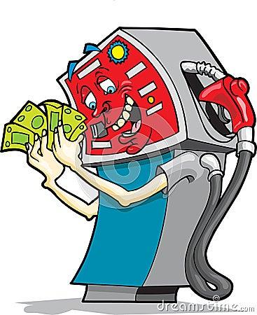 Greedy Gasoline Pump