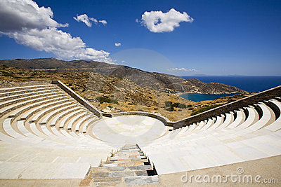 Royalty Free Stock Photo: Greek Amphitheatre, Greece