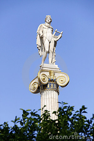 Greek ancient God Apollo