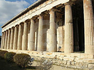 Greek ancient temple