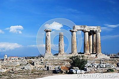 Greek ancient temple