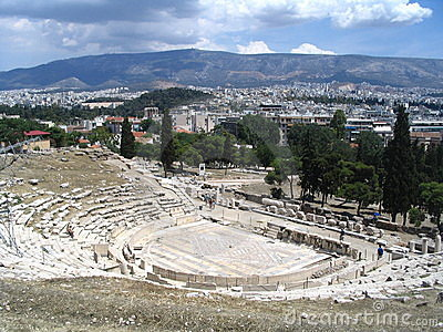 Greek antique theatre