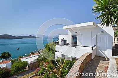 Greek architecture at Mirabello Bay
