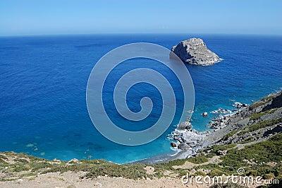 Greek beach, amorgos island