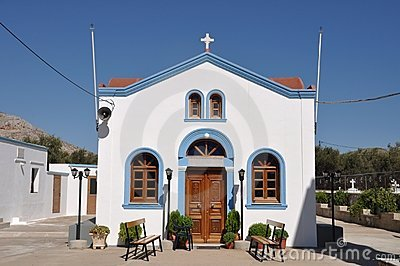 Greek Church Royalty Free Stock Images - Image: 16267239