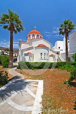 Greek church on Crete