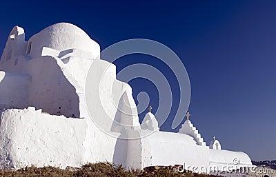 Greek church mykonos