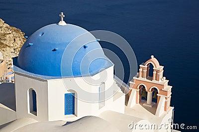 Greek Church, Santorini, Greece