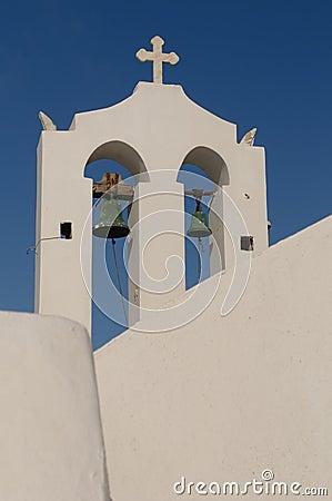 Greek church at Santorini island